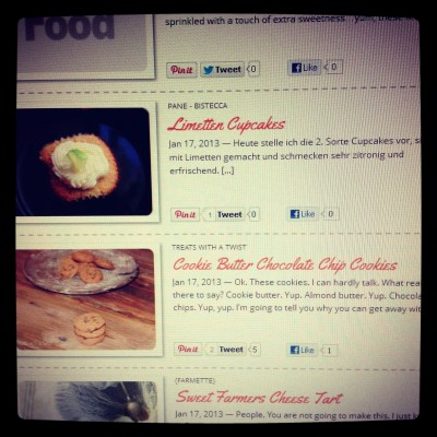 My Cookie Butter Chocolate Chip Cookies were featured on DailyBuzz Food!