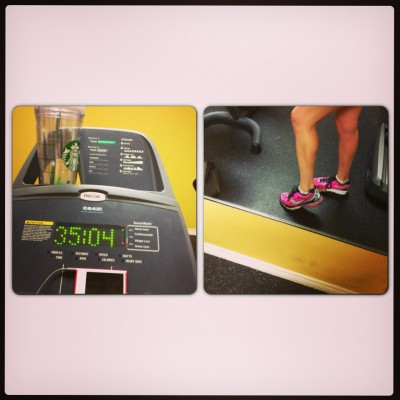 Extra time on the bike; my new hot pink shoes that I'm SO excited about!
