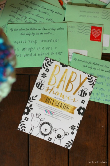 how to throw a virtual baby shower  treats with a twist, Baby shower invitations