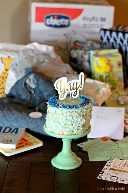 how to throw a virtual baby shower treats with a twist